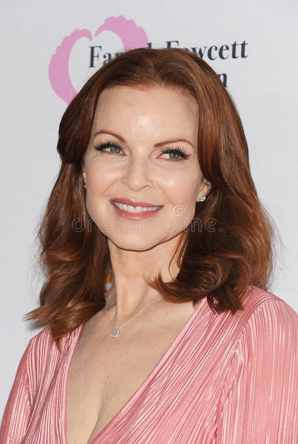 Marcia Cross. At the Farrah Fawcett Foundation`s Tex-Mex Fiesta held at the Wallis Annenberg Center in Beverly Hills, USA on September 6, 2019 royalty free stock image