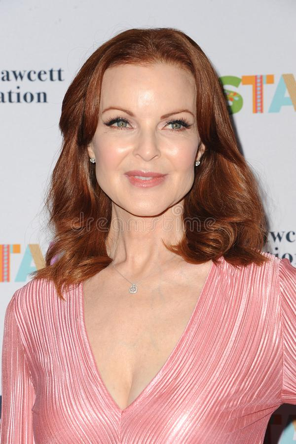 Marcia Cross. At the Farrah Fawcett Foundation`s Tex-Mex Fiesta held at the Wallis Annenberg Center in Beverly Hills, USA on September 6, 2019 royalty free stock photos