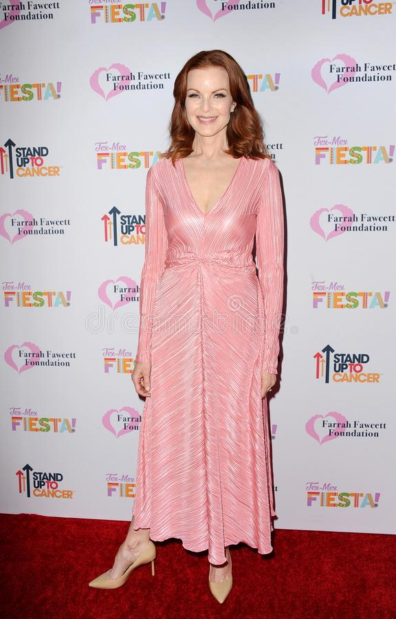 Marcia Cross. At the Farrah Fawcett Foundation`s Tex-Mex Fiesta held at the Wallis Annenberg Center in Beverly Hills, USA on September 6, 2019 stock images