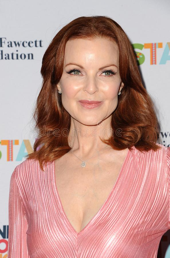 Marcia Cross. At the Farrah Fawcett Foundation`s Tex-Mex Fiesta held at the Wallis Annenberg Center in Beverly Hills, USA on September 6, 2019 royalty free stock images