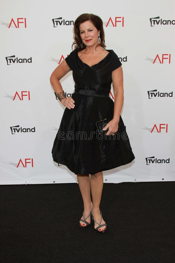 Marcia Gay Harden at the AFI Life Achievement Award Honoring Shirley MacLaine, Sony Pictures Studios, Culver City, CA 06-07-12 royalty free stock photo