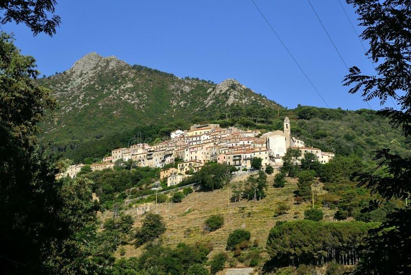 Marciana, Elba, Tuscany, Italy royalty free stock images
