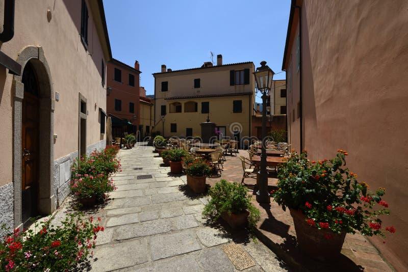 Marciana Marina, Elba, Tuscany, Italy stock photo