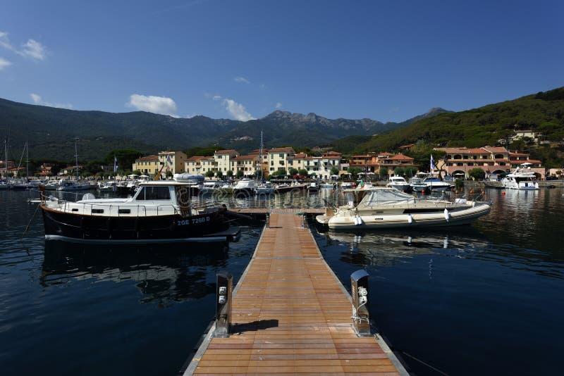 Marciana Marina, Elba, Tuscany, Italy royalty free stock photos