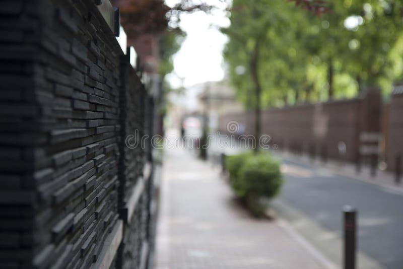 marciapiede fotografie stock libere da diritti