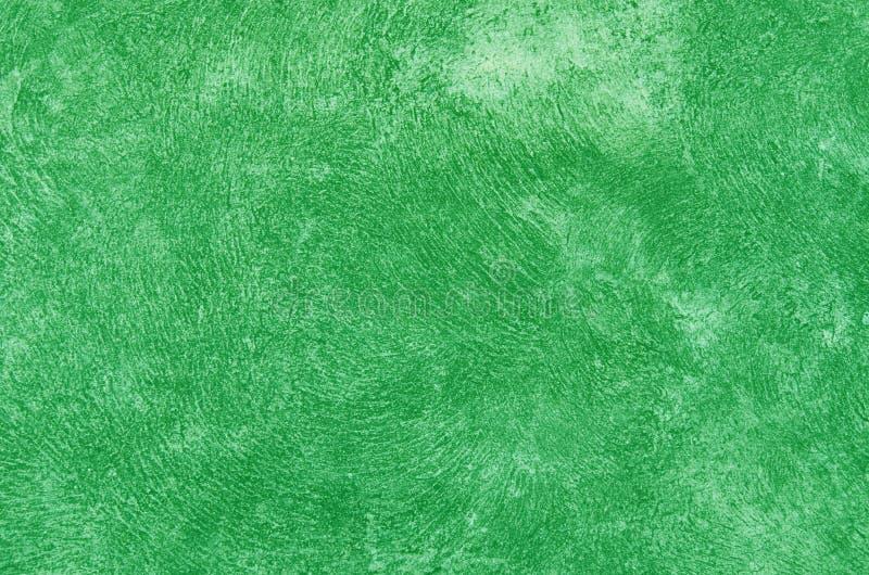 Marciapiede verde del cemento fotografia stock libera da diritti