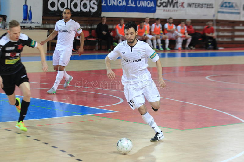 Marcinho - futsal stock photography