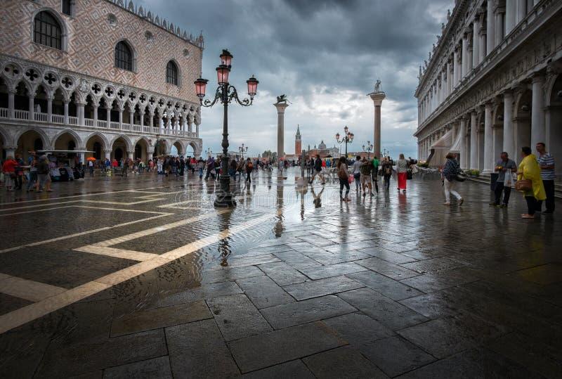 marco广场圣・威尼斯 意大利 库存图片
