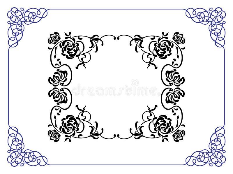marco stock de ilustración