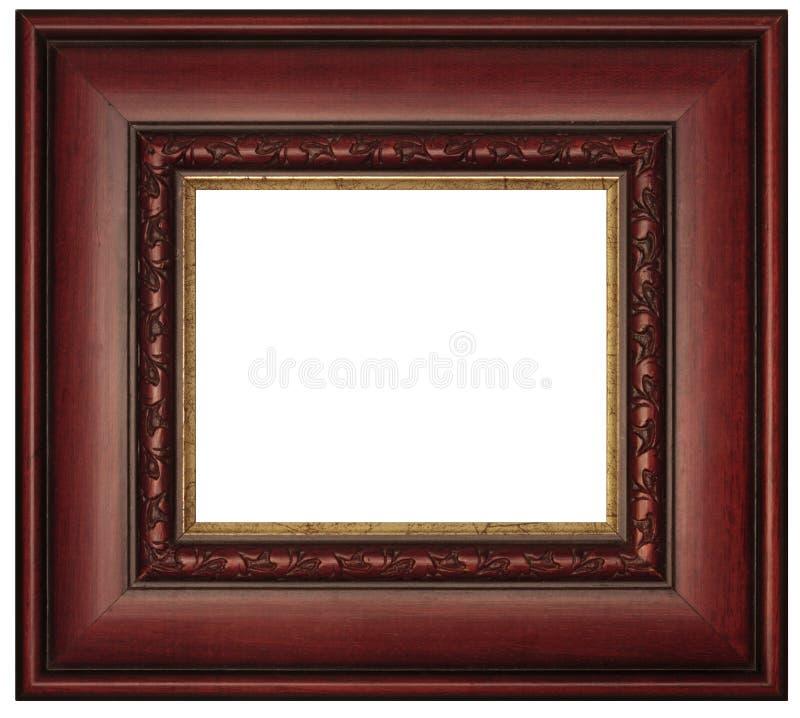 Marco foto de archivo. Imagen de aislado, cuadro, tallado - 18027796