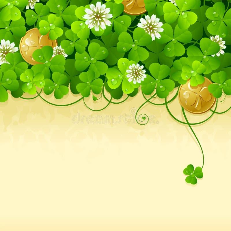 Marco 2 del día del St. Patrick ilustración del vector
