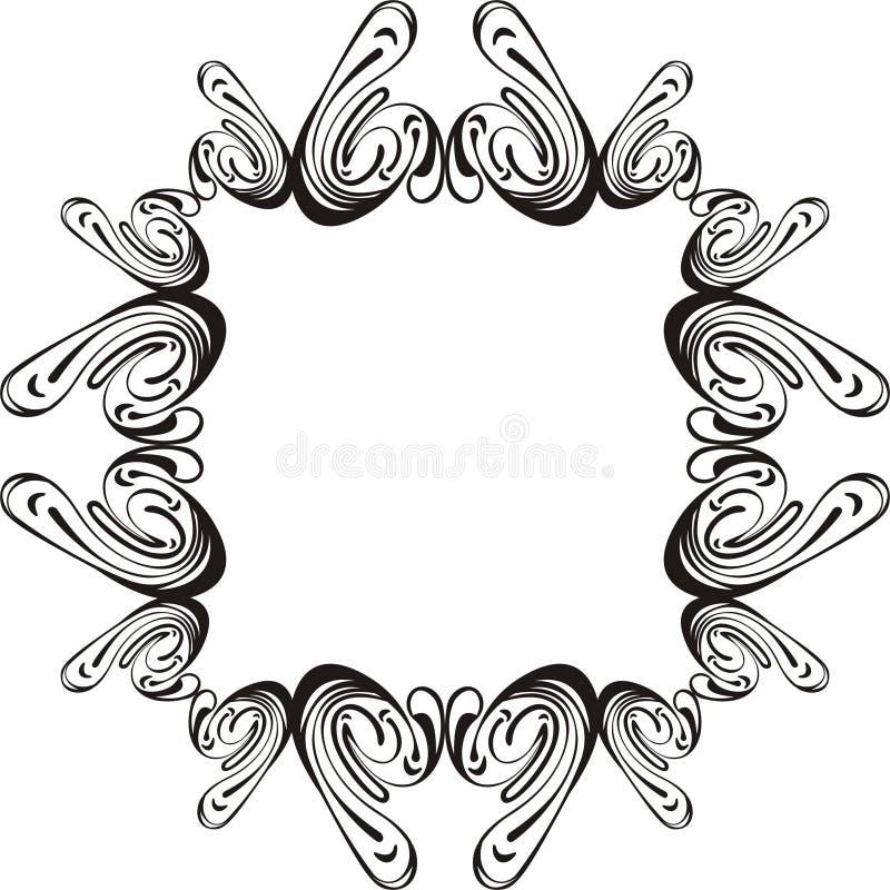 Marco abstracto ilustración del vector