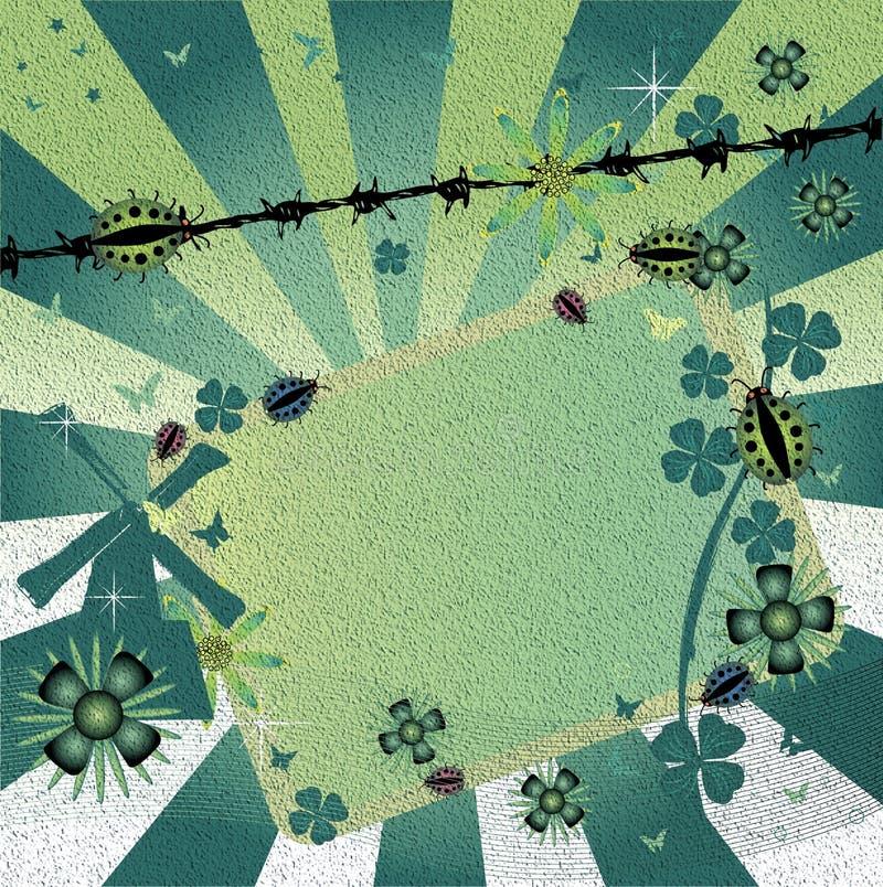 Download Marco abstracto stock de ilustración. Ilustración de celebración - 7277032