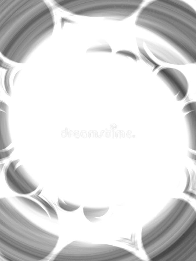 Marco abstracto extraño de la foto ilustración del vector