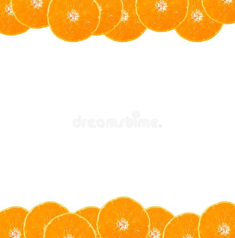 Marco anaranjado fotos de archivo