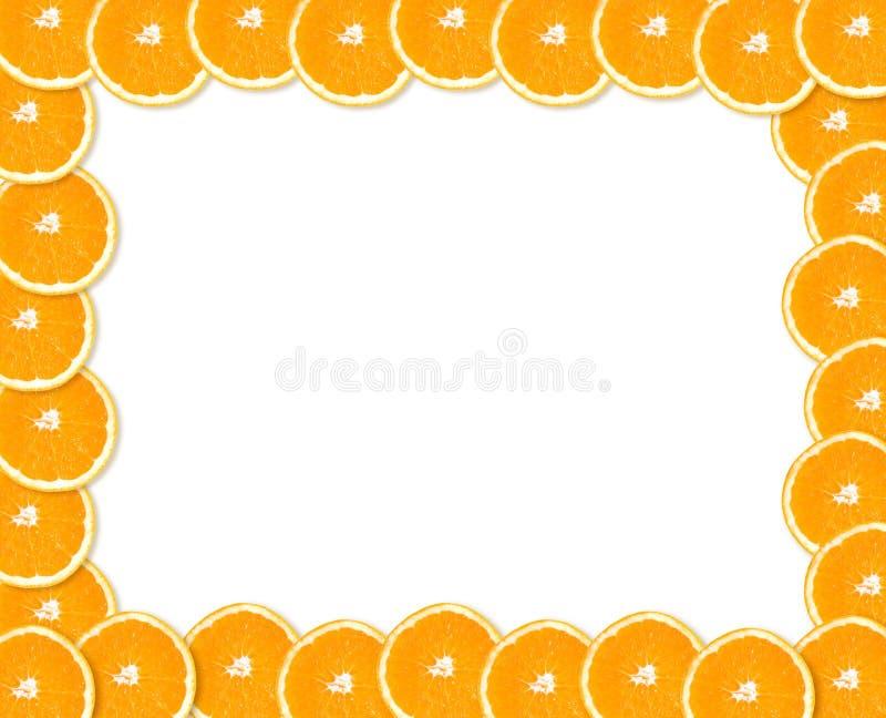 Marco anaranjado foto de archivo