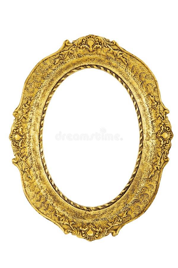 Marco antiguo de oro fotos de archivo libres de regalías