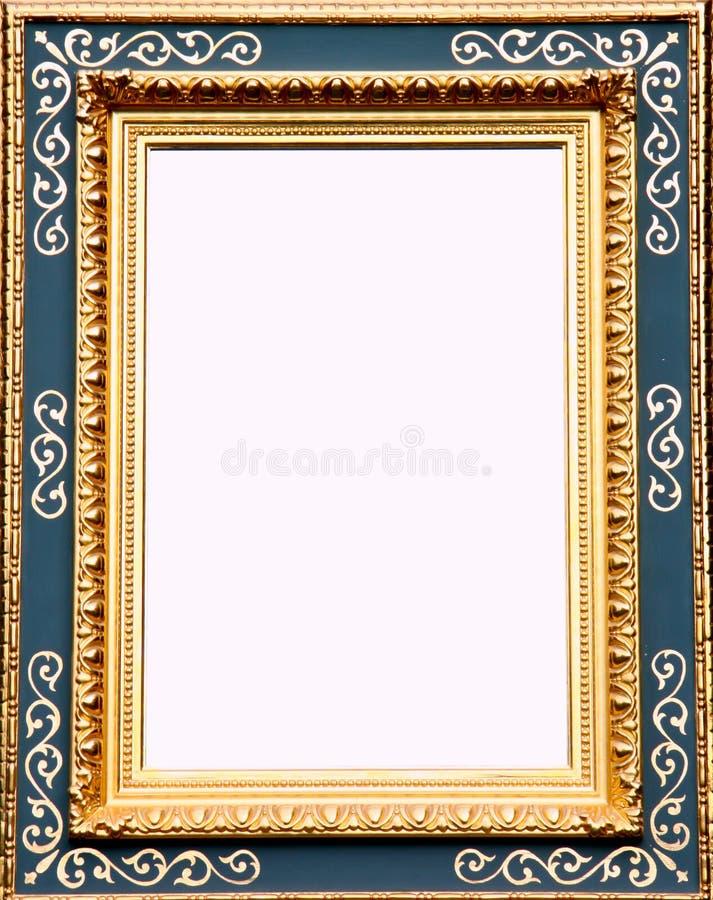 Marco antiguo del oro imagen de archivo. Imagen de información ...