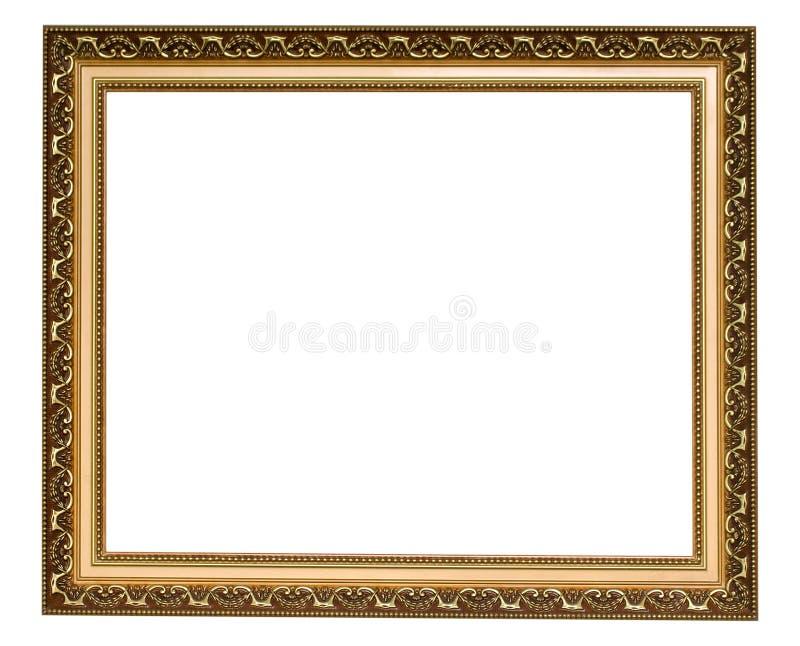 Marco antiguo del oro imagen de archivo. Imagen de frontera - 27429435