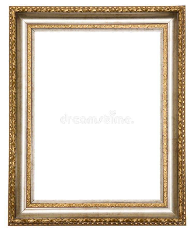 Marco antiguo del oro foto de archivo. Imagen de ilustraciones - 8912028