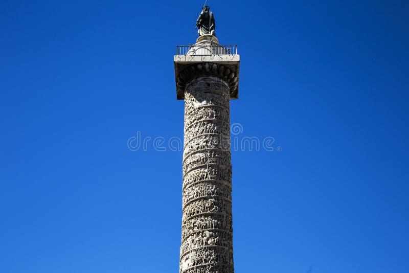 Marco Aurelio Column fotos de archivo libres de regalías