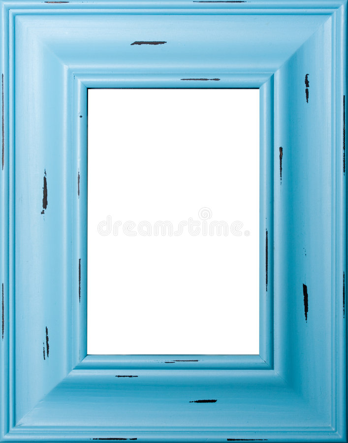 Marco Azul Foto de archivo libre de regalías