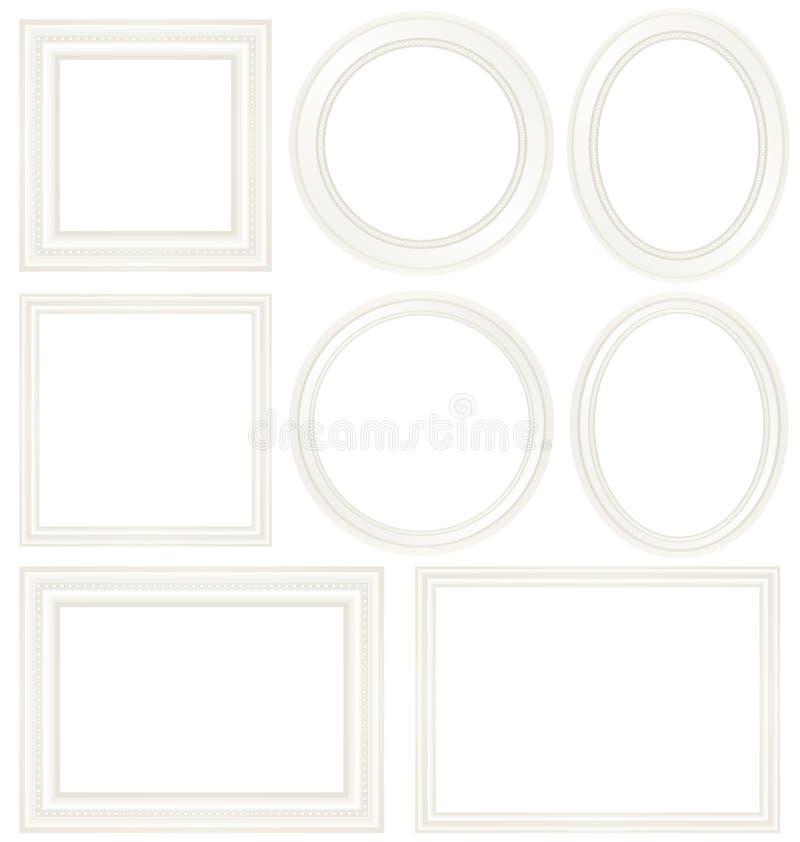 marco blanco libre illustration