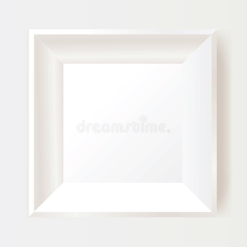 Marco blanco de la foto libre illustration