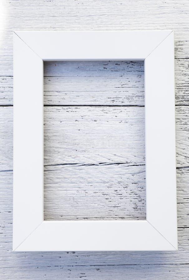Marco blanco rústico simple y fondo texturizado fotografía de archivo