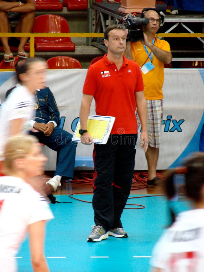 Marco Bonitta, Polish coach stock photos