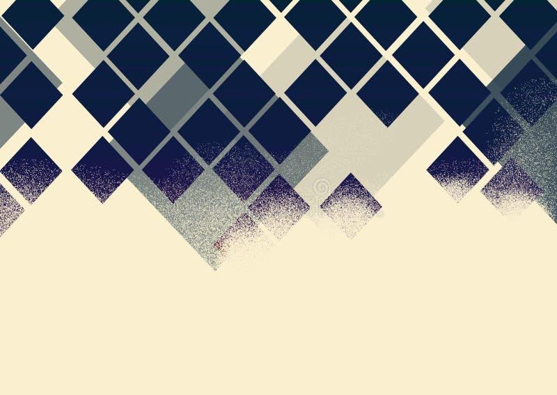 Marco brillante del sitio web del polígono de la decoración de la bandera hermosa del extracto del diseño del fondo ilustración del vector