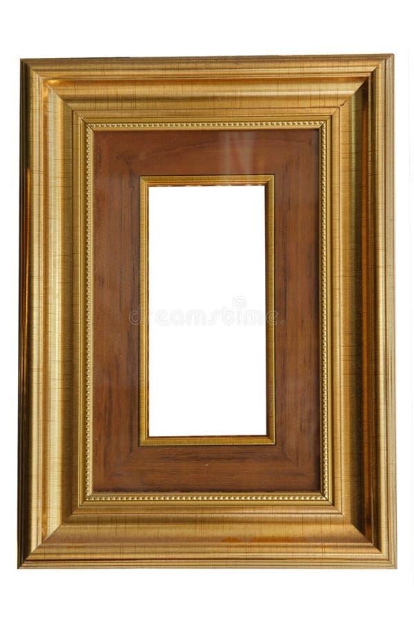 Marco clásico de madera del aislante foto de archivo libre de regalías