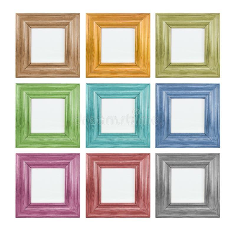 Marco coloreado fotos de archivo libres de regalías