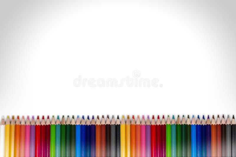 Marco colorido 05 del lápiz imágenes de archivo libres de regalías