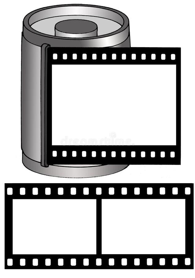 Download Marco Con El Película-Rectángulo Y La Película Stock de ilustración - Ilustración de fondo, camera: 1298283