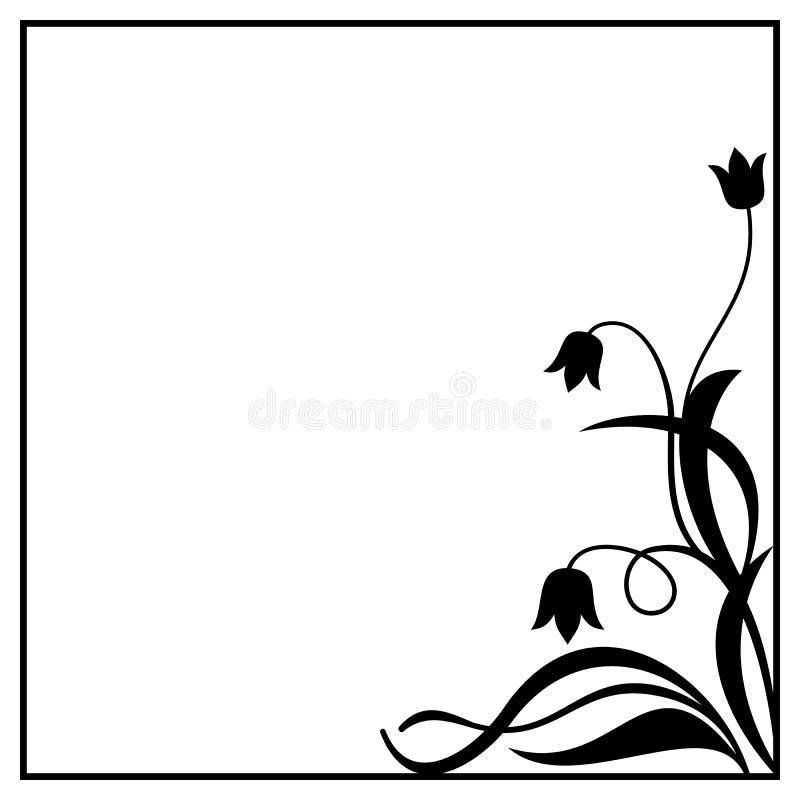 Hermosa Cuadrada Marco Negro Composición - Ideas Personalizadas de ...