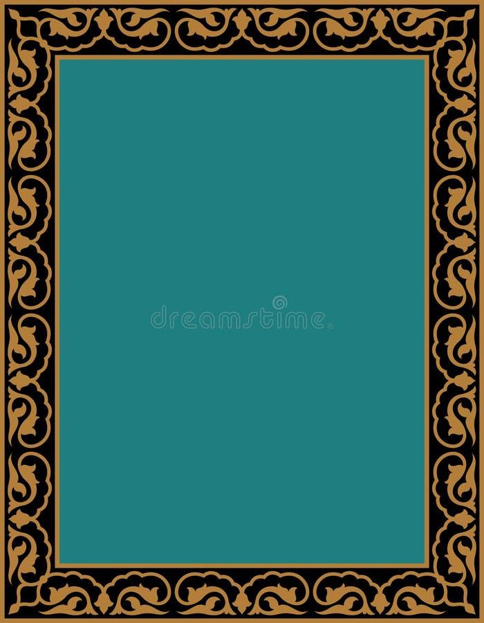 Download Marco cuatro de Deylam ilustración del vector. Ilustración de floral - 64207726