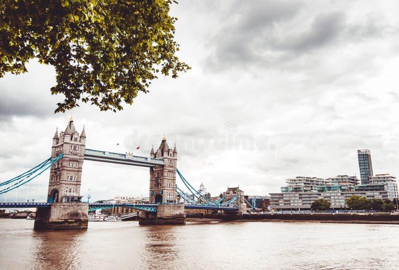 Marco da ponte da torre em Londres imagem de stock royalty free