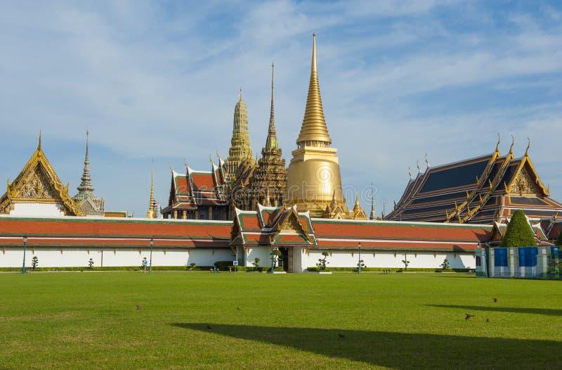 Marco da tradição de Tailândia, palácio grande fotografia de stock royalty free