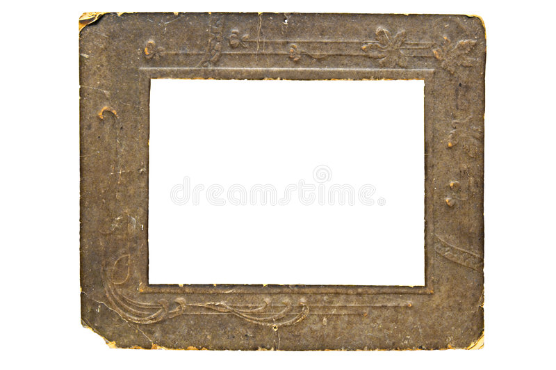 Marco de antaño imágenes de archivo libres de regalías