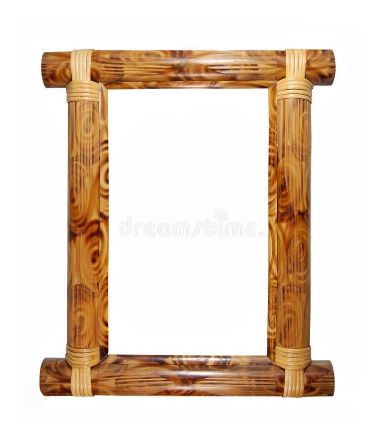 Marco de bambú imágenes de archivo libres de regalías