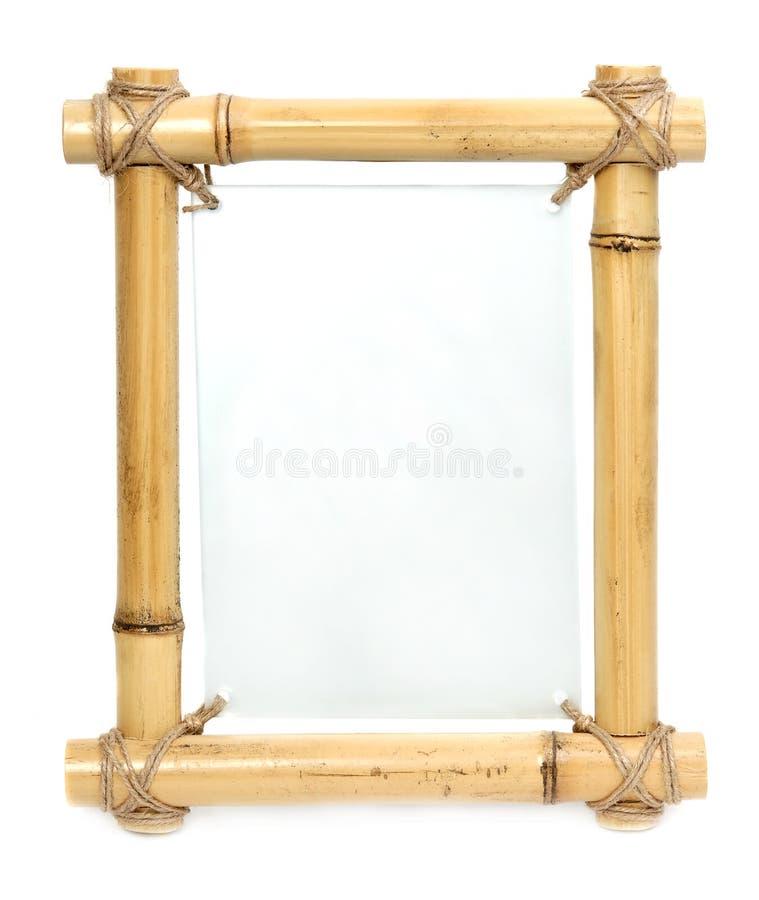 Marco de bambú imagenes de archivo