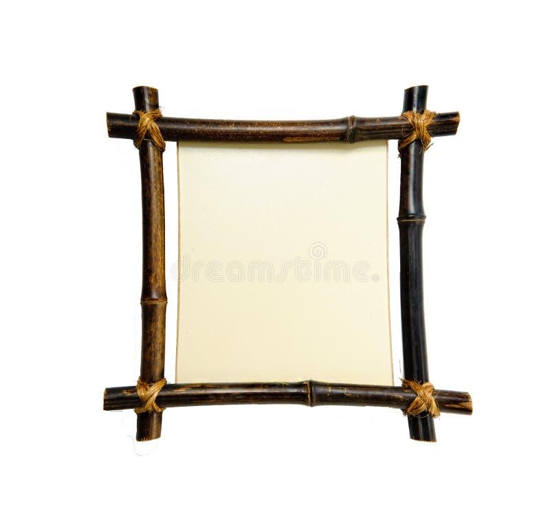 Marco de bambú foto de archivo libre de regalías