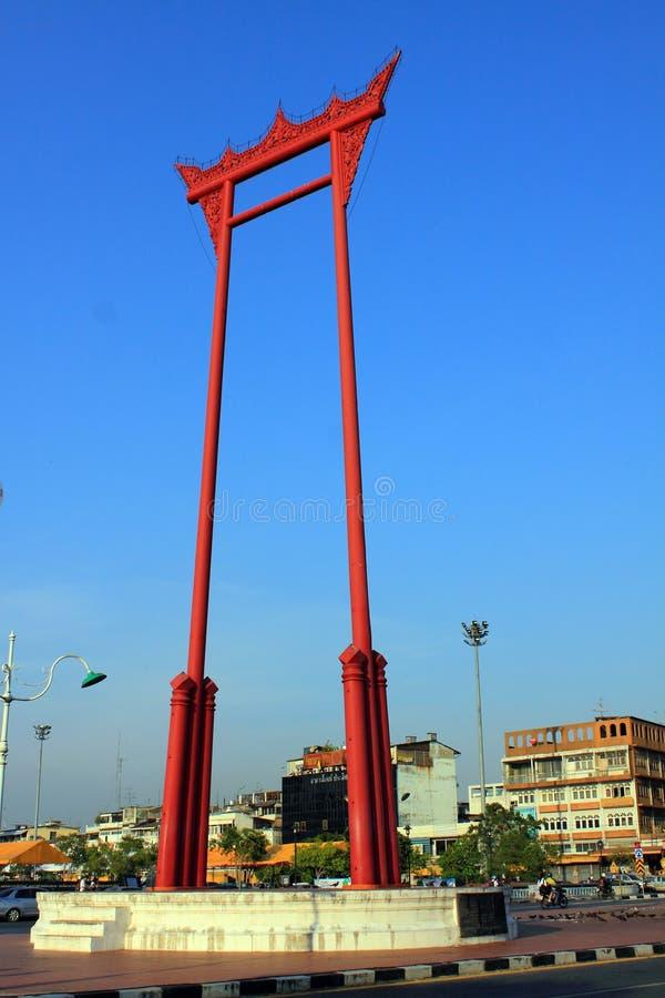 Marco de Banguecoque - balanço gigante foto de stock royalty free