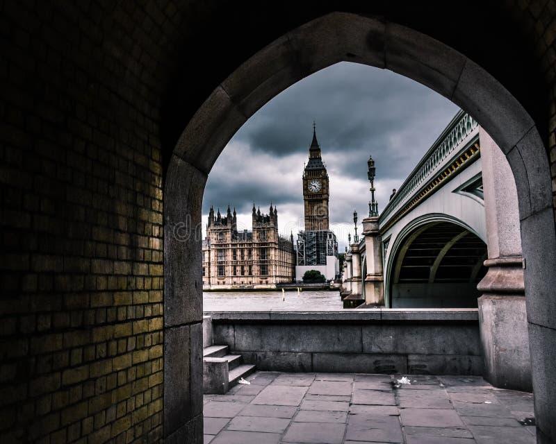 Marco de Big Ben - el Londres imagen de archivo libre de regalías