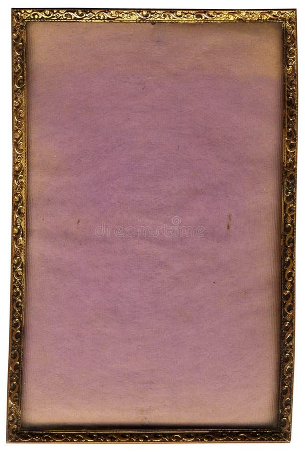 Marco de bronce imagen de archivo