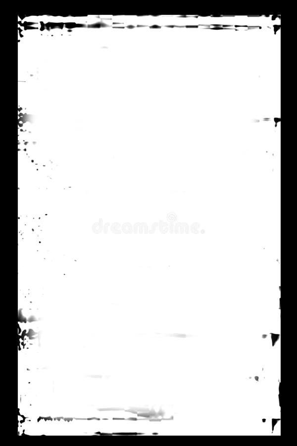 Marco de Grunge ilustración del vector