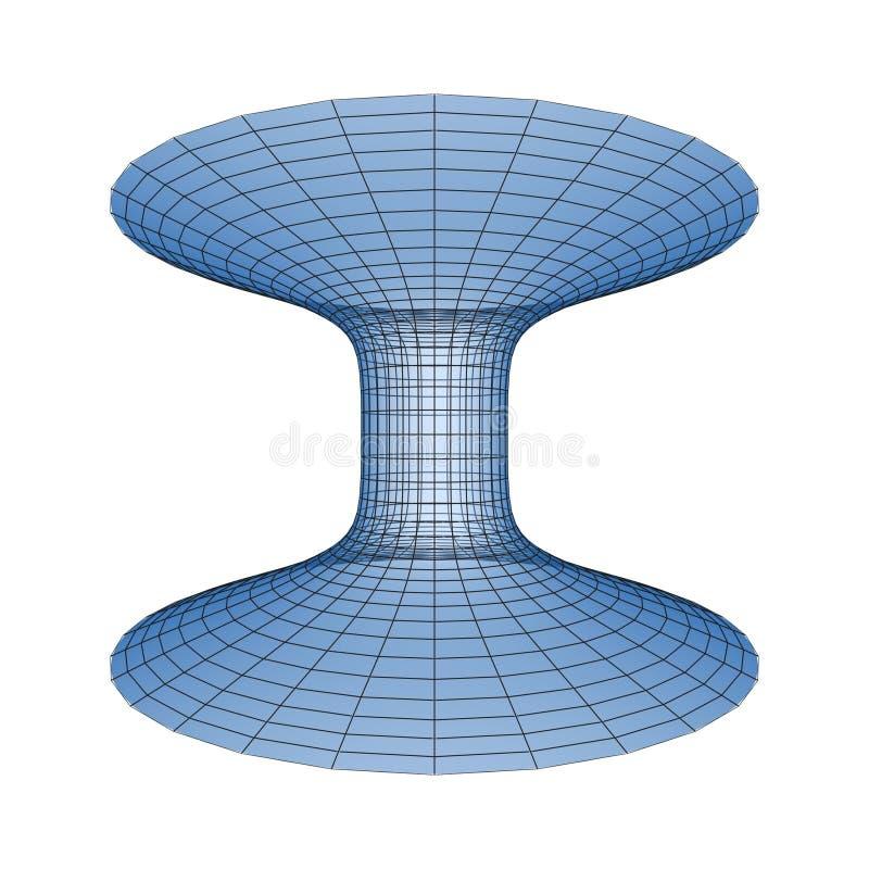 Marco de Hyperspace ilustración del vector