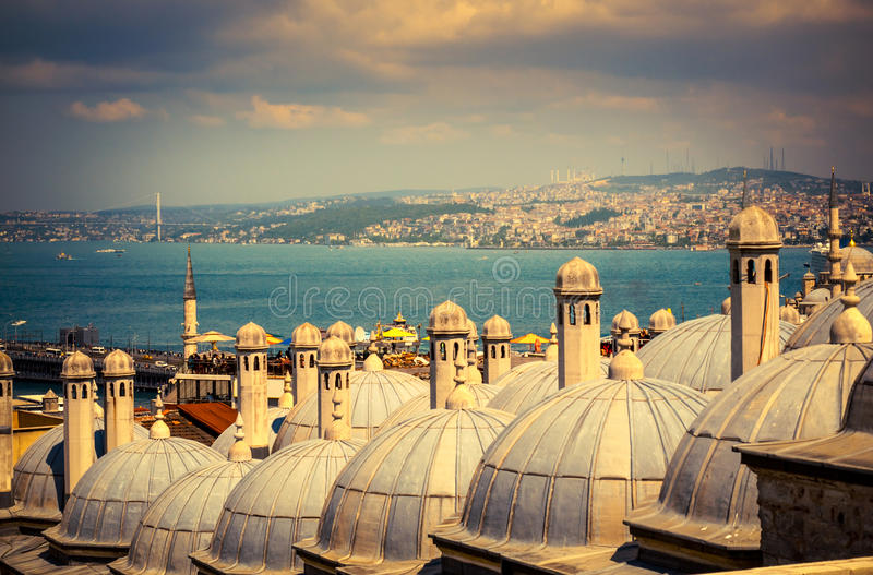 Marco de Istambul imagem de stock royalty free