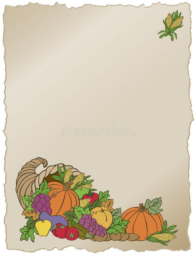 Marco de la cornucopia libre illustration